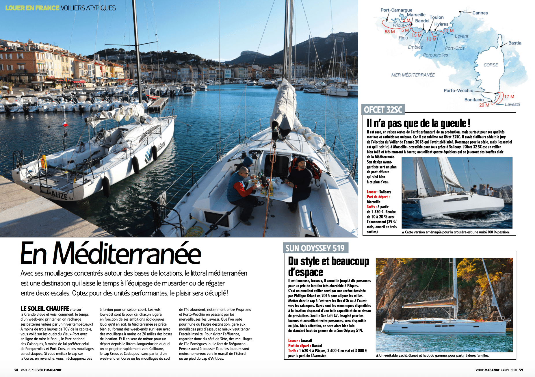 06 - Louer en France le temps d'un week-end (Voile Magazine Avril 2020)
