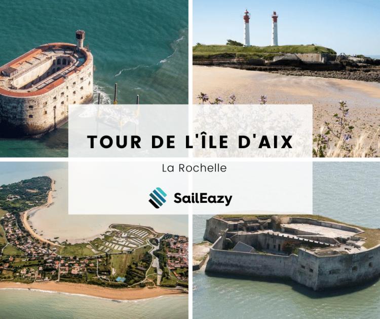 Tour de lÎle daix en voilier avec SailEazy e1599057583336 - Tour de l'Île d'Aix - La Rochelle