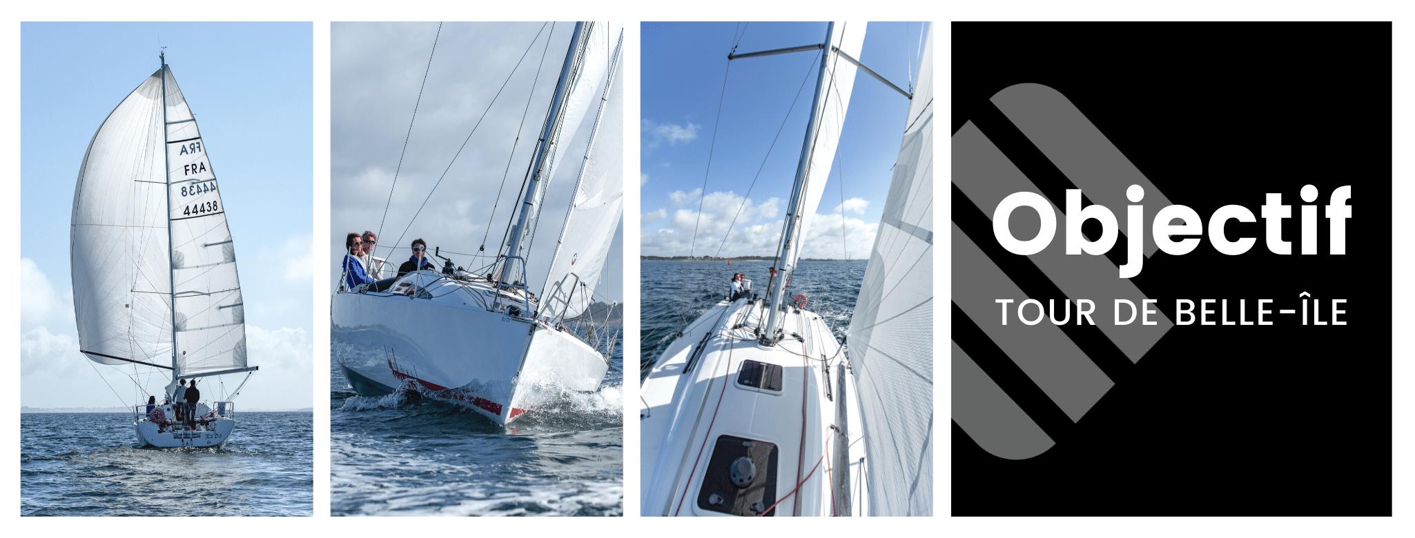 Objectif tour de belle île en mer avec SailEazy - Objectif : Tour de Belle-Île COMPLET