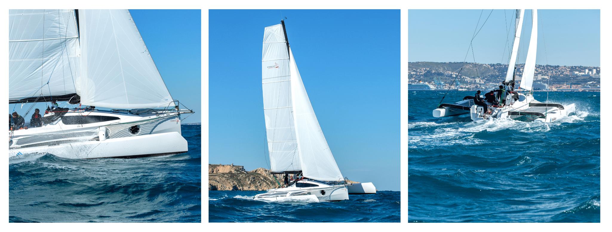 Tricat 30 SailEazy Marseille - Validation Chef de bord Tricat 30 - Marseille